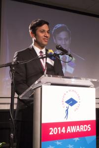 scholar speaking