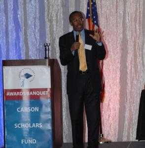 Dr. Carson speaking