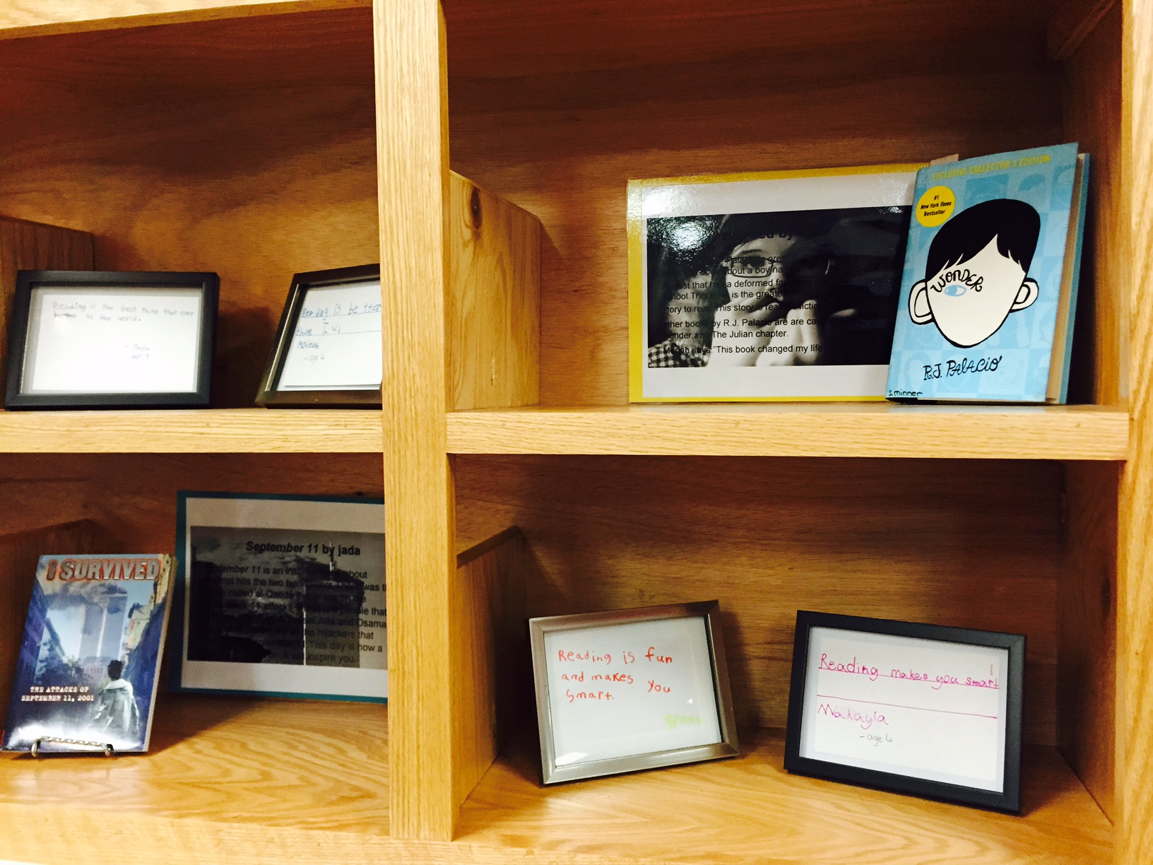 Framed Book Reports