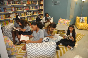 Girls Reading In Room