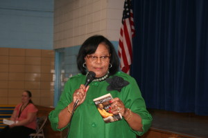 Guest Speaker Dr. Everlyn Williams, Deputy Superintendent