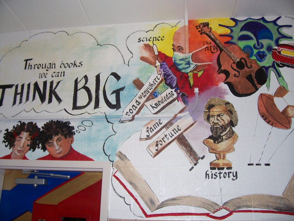 THINK BIG mural