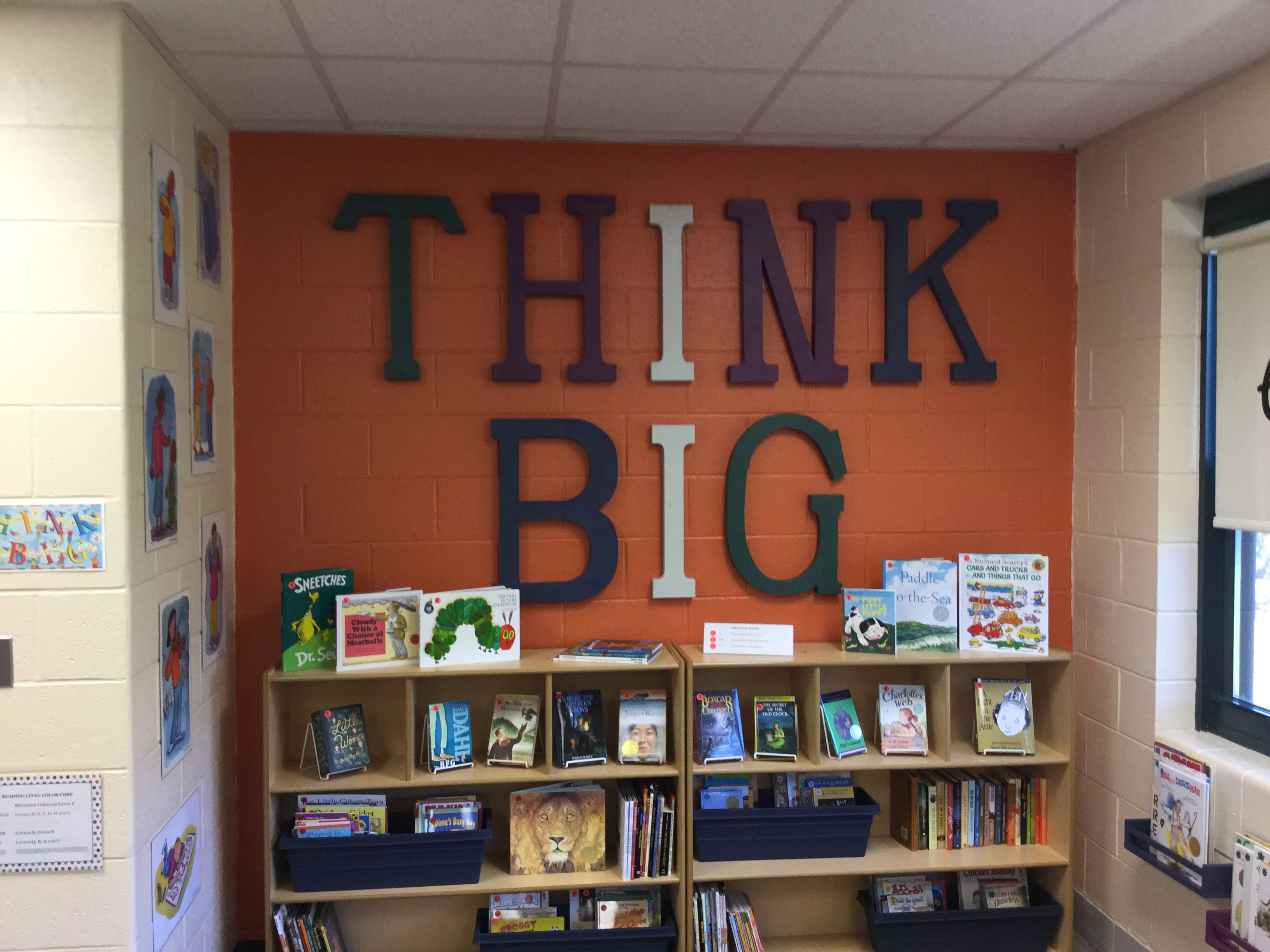 THINK BIG wall