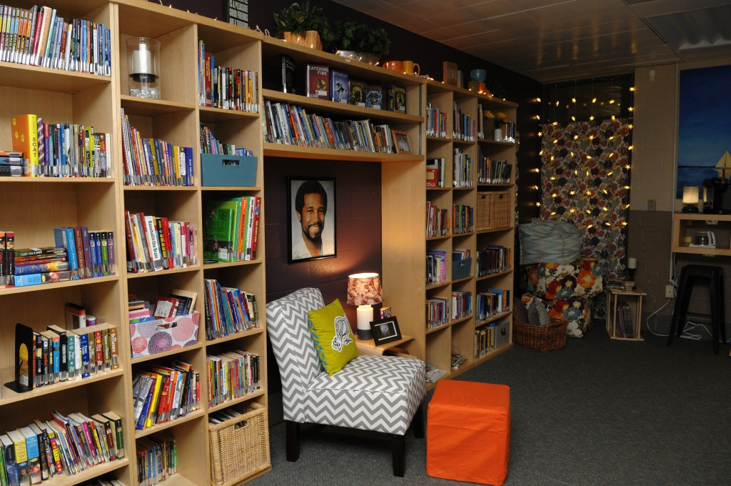 bookshelf and room 1