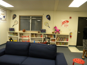 rackets and seating