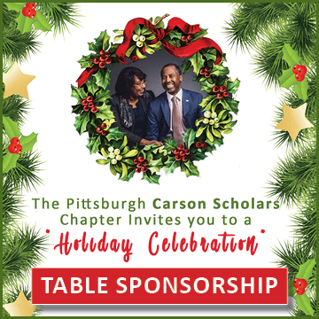 Christmas In Pittsburgh 2019.Pittsburgh Chapter Carson Scholars Holiday Celebration Table Sponsorship Carson Scholars Fund