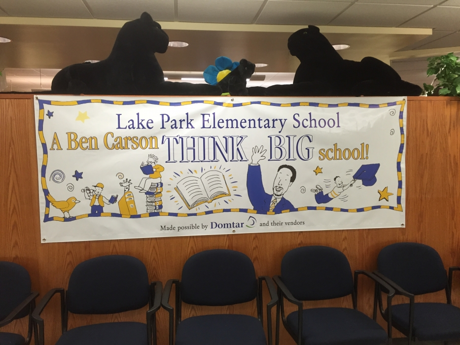 Lake Park Elementary School Reading Room Opening Carson Scholars Fund